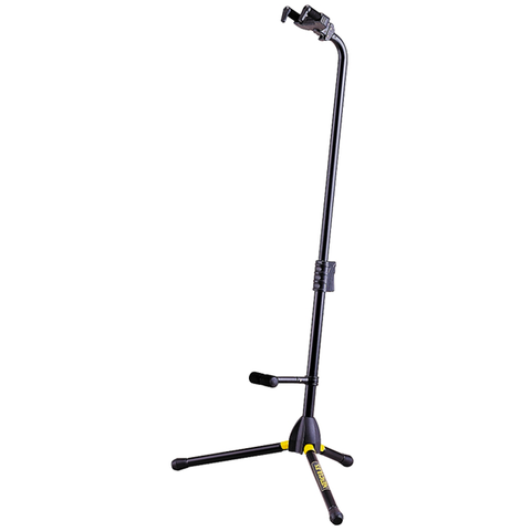 (1) Hercules GS412B+ Auto Grip System (AGS) Single Guitar Stand