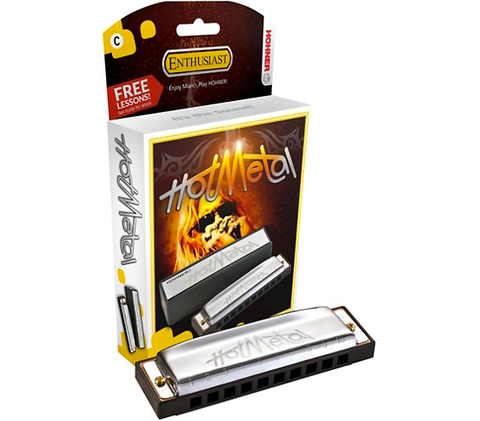 Hohner 572 Hot Metal Harmonica
