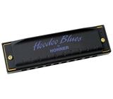 Hohner Hoodoo Blues Harmonica 3-Pack with Case (C, D, G)