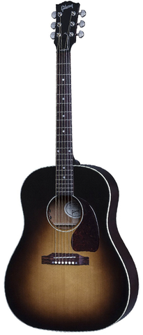Gibson 2019 J-45 Standard Slope Shoulder Dreadnought Acoustic-Electric Guitar - Vintage Sunburst