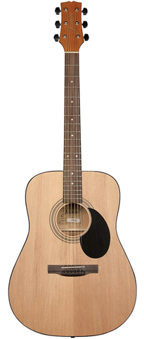 Jasmine S-35 Dreadnought Acoustic Guitar, Natural