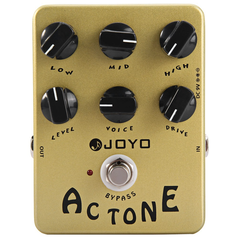 JOYO 10 Series JF-13 AC Tone Vintage Tube Amplifier Guitar Effects Pedal