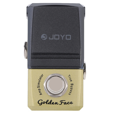 JOYO Ironman Series JF-308 Golden Face Amp Simulator Guitar Effects Pedal