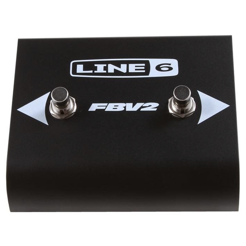Line 6 FBV2 2-Button Footswitch, Black