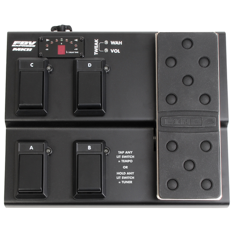 Line 6 FBV Express MKII Footswitch, Black