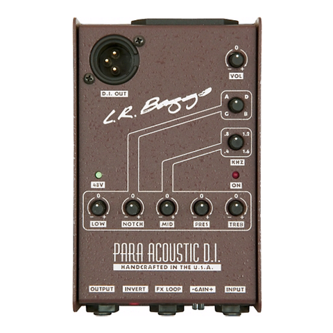 L.R. Baggs Para Acoustic Guitar DI and Preamp