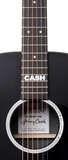 Martin Custom Signature Edition DX Johnny Cash Acoustic-Electric, Jett Black
