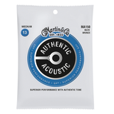 Martin MA150 SP 80/20 Bronze Authentic Acoustic Guitar Strings, Medium