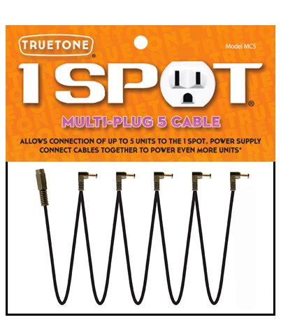 Truetone MC5 Multi-Plug 5 Cable for 1 Spot