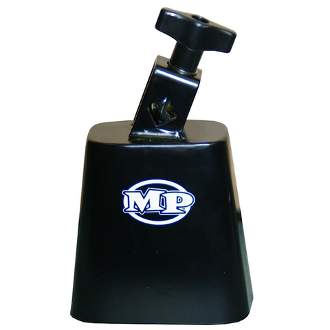 Mano Percussion MP-CB4 - 4'' Black Cowbell with Mounting Bracket