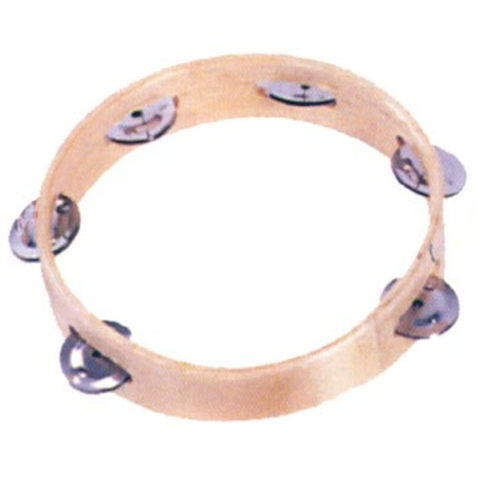 Mano Percussion MP-T68 Wooden Headless Tambourine