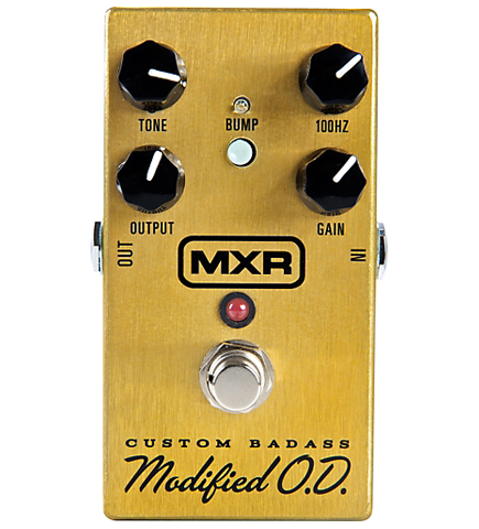 MXR M-77 Custom Badass Modified O.D. Custom Guitar Effects Pedal