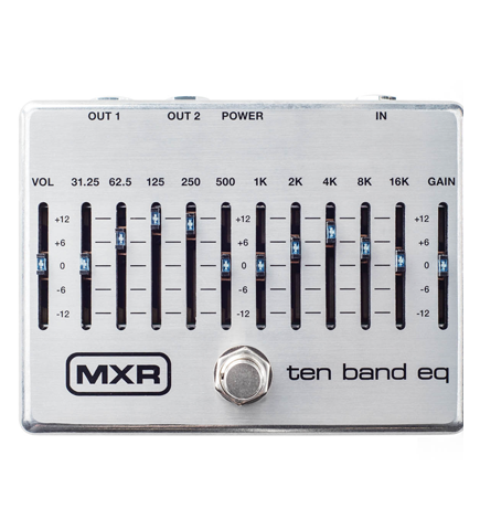 MXR M-108S Ten Band Graphic EQ
