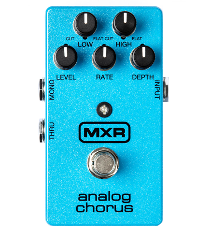 MXR M-234 Analog Chorus Effects Pedal