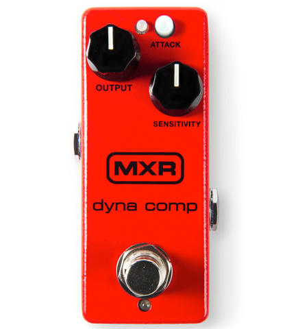 MXR M-291 Dyna Comp Mini Compressor Effects Pedal