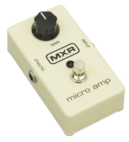 MXR M-133 Micro Amp Guitar Effects Pedal