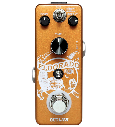 Outlaw Effects Eldorado 3-Mode Echo Guitar Effects Pedal