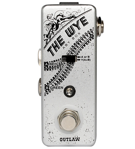 Outlaw Effects Wye ABY Switcher Box