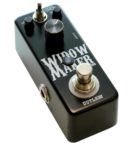 outlaw effects widow maker metal distortion guitar effects pedal reid music limited. Black Bedroom Furniture Sets. Home Design Ideas