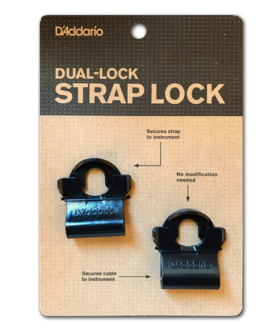 D'Addario / Planet Waves PW-DLC-01 Dual-Lock Strap Lock