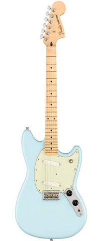 Fender Player Series Mustang Electric Guitar with Maple Fingerboard - Sonic Blue