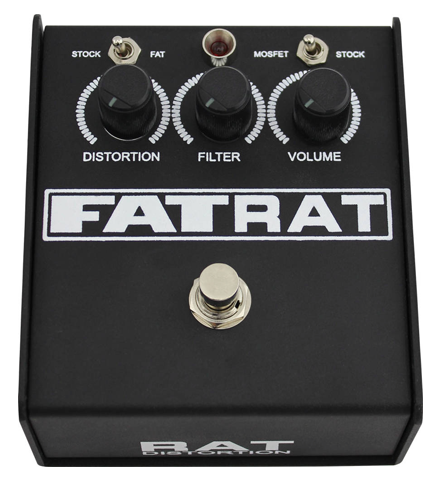 ProCo 'Fat Rat' Selectable Mosfet Clipping and Thick Boost Distortion