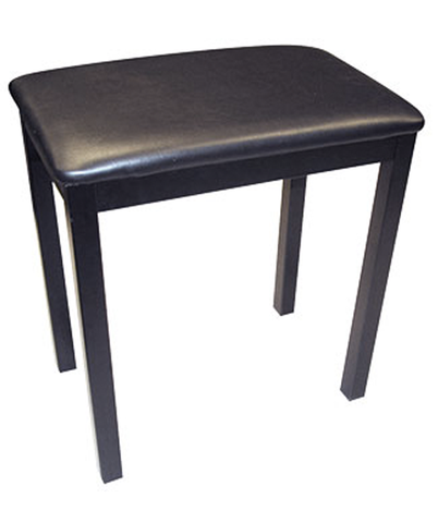 Profile KDT-5100 Fixed-Height Piano Bench, Black