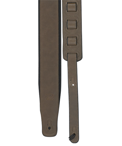 "Profile 2.8"" PGS780-1 Leather Guitar Strap, Rust"