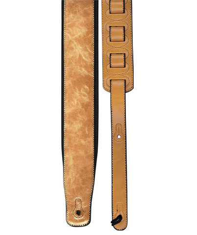 "Profile 2.8"" PGS780-2 Leather Guitar Strap, Tan"