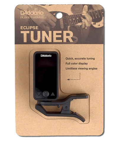 D'Addario / Planet Waves PW-CT-17BK Eclipse Headstock Tuner, Black