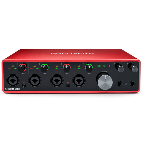 Focusrite Scarlett 18i8 3rd Generation 18-in, 8-out USB Audio Interface
