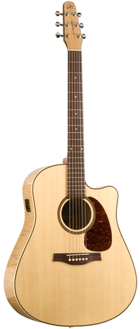 Seagull Performer Series CW Flame Maple Q1 Acoustic-Electric