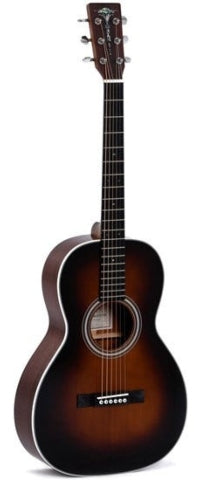 Sigma 00M-1S-SB Acoustic Guitar w/ Solid Sitka Spruce Top (Sunburst)