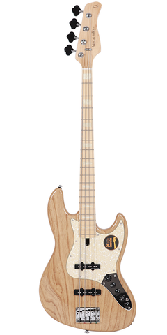 Sire Marcus Miller V-Series V7 4-String (Ash) 2nd Generation Electric Bass, Swamp Ash