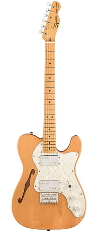 Squier Classic Vibe 70's Thinline Telecaster - Natural