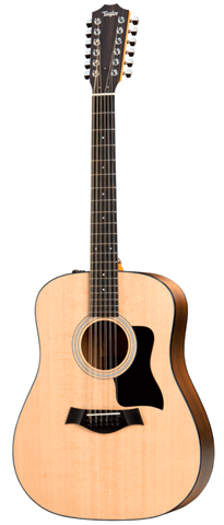 Taylor 150e Spruce/Walnut Dreadnought 12-String Acoustic-Electric