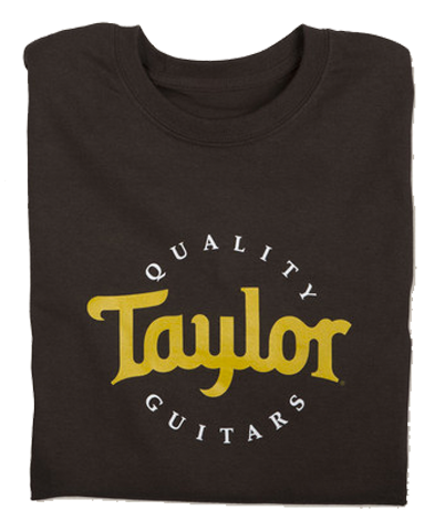 Taylor 2-Color Logo T-Shirt, Brown (4 Sizes Available)