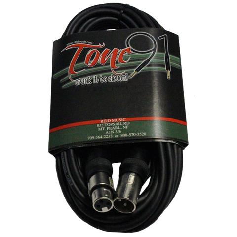 Tone91 (SMM-20) Stagemaster Lo-Z Microphone Cable, 20 Foot