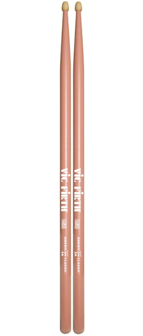 c2c235e5ae Vic Firth 5AP American Classic Hickory Drumsticks - Pink – Reid ...