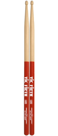 Vic Firth 5AVG American Classic Hickory Drumsticks w/ Vic Grip