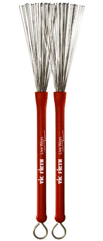 Vic Firth LW Live Wire Brushes w/ Bead Tips