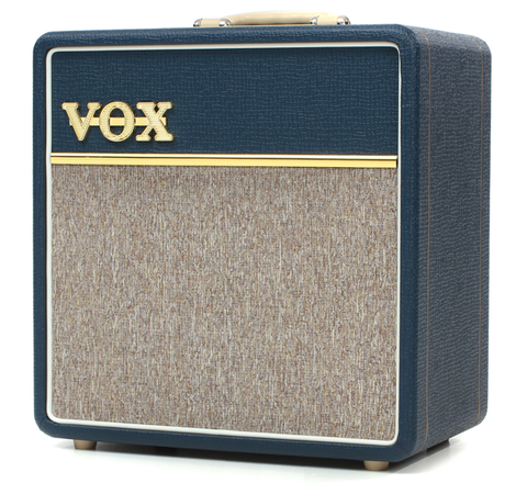 VOX AC4C-BL 4W All-Tube Mini Guitar Combo with Top Boost