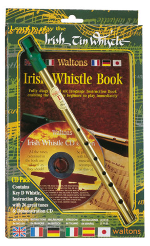 Waltons Irish Whistle CD Pack