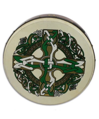 Waltons Irish Music Celtic Cross Bodhran - 18""