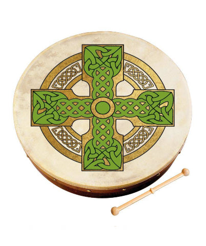 Waltons Irish Music 18'' Cloghan Cross Bodhran