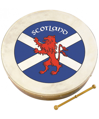 Waltons Scottish Flag Bodhran, 18""