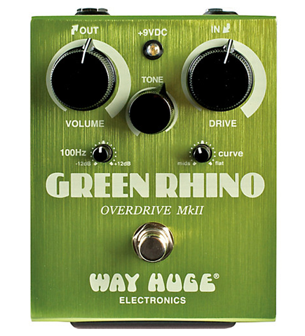 Way Huge Green Rhino MkIV Overdrive Effects Pedal