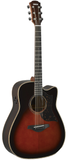 Yamaha A3RTBS Dreadnaught Acoustic-Electric, Tobacco Brown Sunburst
