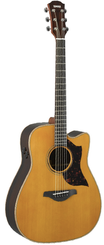 Yamaha A3RVN Dreadnaught Acoustic-Electric, Vintage Natural