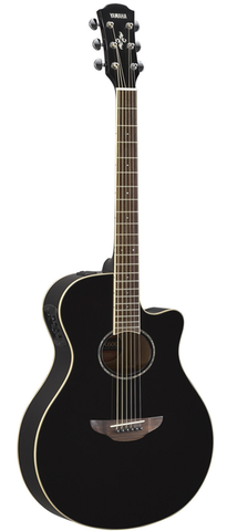 Yamaha APX600 Thinline Acoustic-Electric, Black